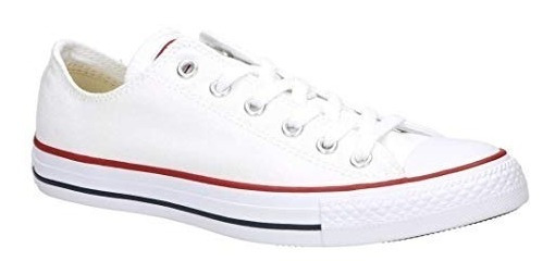 Zapatillas Converse All Star Chuk Taylor 118015b Blanco Lona
