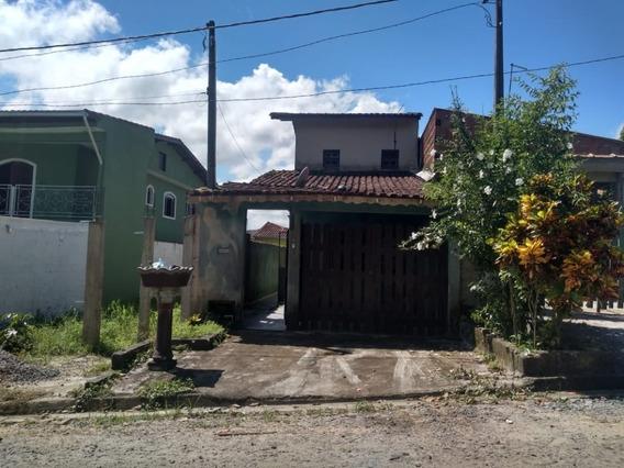 Casa No Bairro Balneário Plataforma, Em Mongaguá Litoral Sul