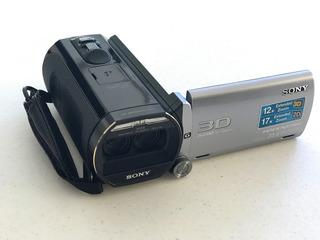Videocámara 3d Sony Handycam Hdr-td20v 64gb 2 Baterías