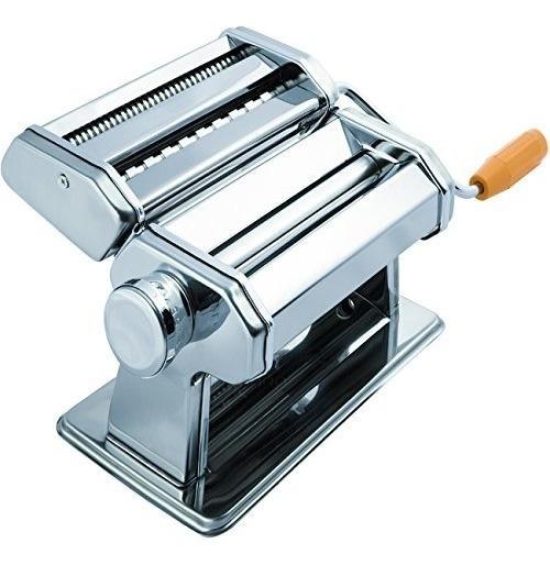 Oxgord Pasta Maker Machine - Rodillo De Acero Inoxidable