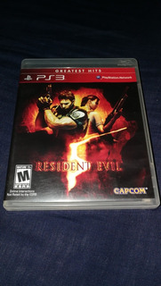 Vídeojuego Sony Playstation 3 Ps3 Resident Evil 5 Estado 10