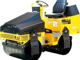 Rodillo Compactador Vibratorio Doble Cipsa Motor Honda 20 Hp
