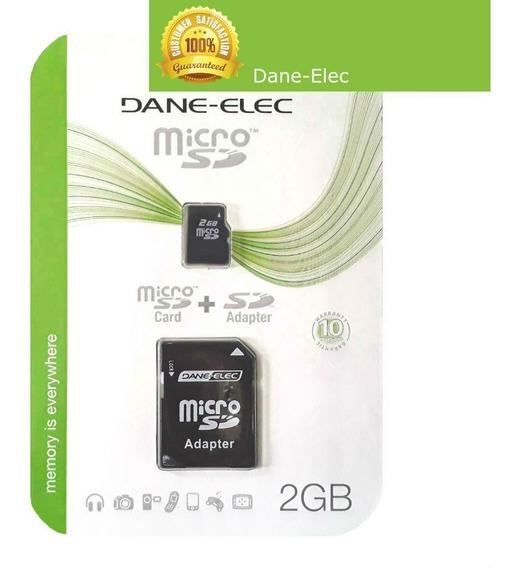 Cartão De Memória Micro Sd Secure Digital 2gb Tf / R002 D