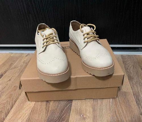 Zapatos Acordonado Picado Dama Talle 38 Imperdibles!!!
