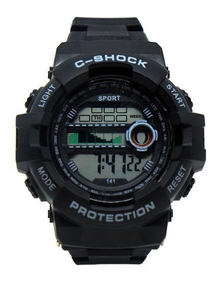 Relógio Digital G-stock Preto Estilo Militar