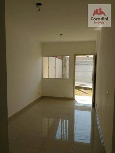Imagem 1 de 7 de Casa Residencial À Venda, Jardim Residencial Fibra, Nova Odessa. - Ca1131