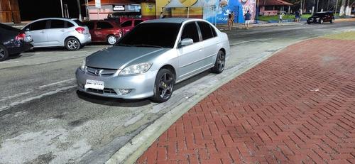 Imagem 1 de 3 de Honda Civic 2005 1.7 Lxl Aut. 4p 130 Hp
