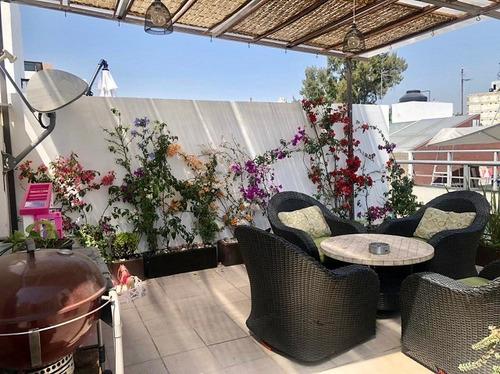 Imagen 1 de 14 de Venta Townhouse Con Roof Garden Del Valle Centro Cas_2219 Oa