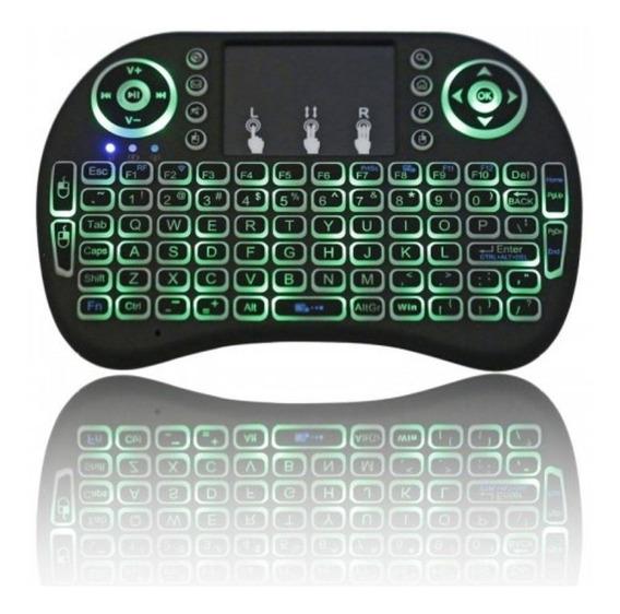 Mini Teclado Air Mouse Touch Sem Fio Tv Box Wireless