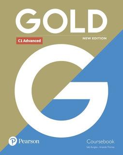 Gold Advanced C1 - Coursebook New Edition - Pearson