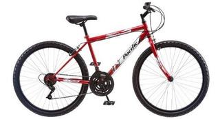 Bici De Montaña Stratus Pacific Para Hombre, Roja, 26