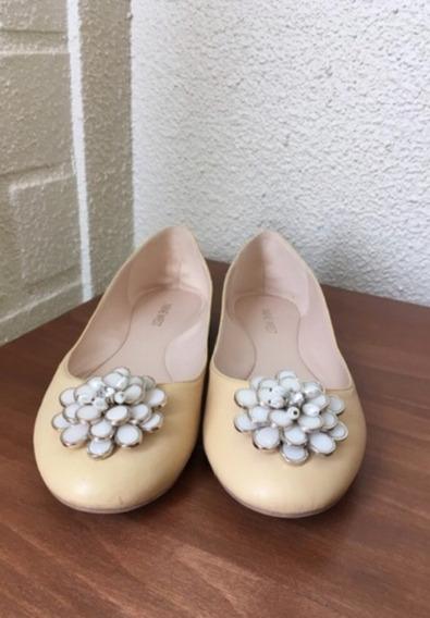 Flats O Ballerinas Amarillas Nine West