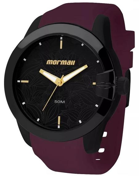 Relógio Mormaii Feminino Maui Roxo Original Nota Fiscal
