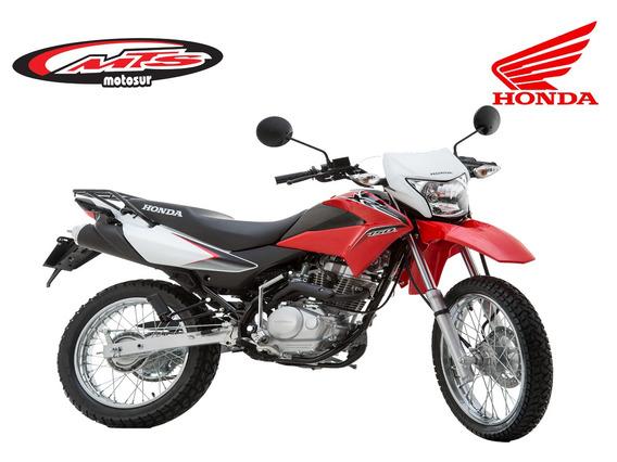 Honda Xr 150l Nueva 2020. 0 Km Roja Negra Blanca Moto Sur