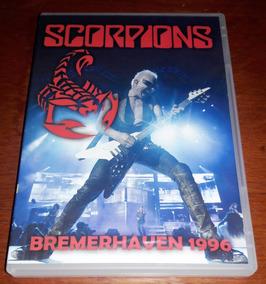 Dvd Scorpions Bremerhaven 1996 - Original Seminovo