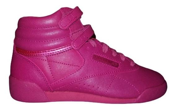 Zapatillas Reebok Freestyle Hi Niñas