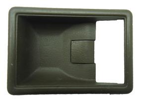 Moldura Maçaneta Interna Mitsubishi L200 Gl Gls 96/07 Marrom
