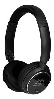Auriculares Bluetooth Radio Micrófono Lector De Tarjeta Aux
