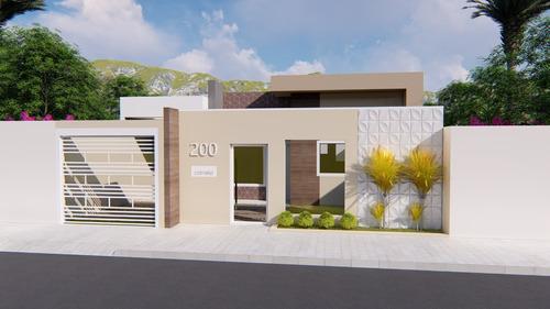 Imagem 1 de 10 de Planta De Casa 2 Quartos - Projeto Completo+aprovação Ea-147