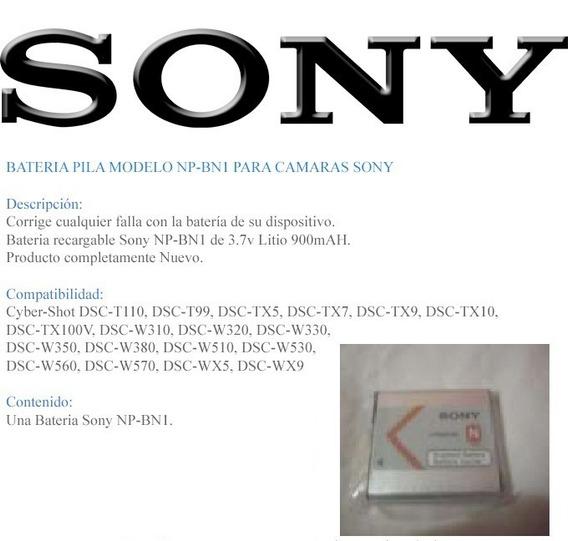 Bateria Sony Tipo N Np-bn 100% Original