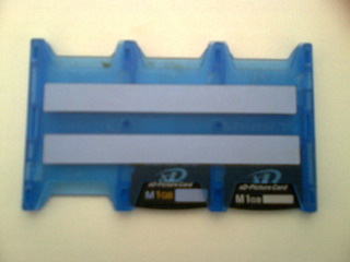 2 Cartões Xd De 1 Gb (olympus E Fujifilm)