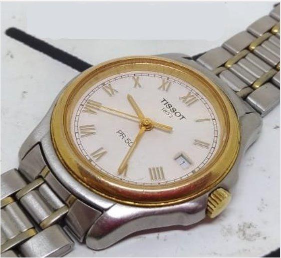 Relógio Tissot T07289 De Pulso Feminino Webclock