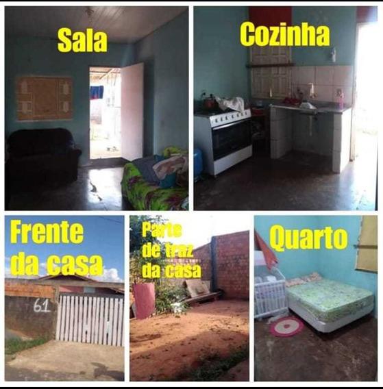 Vendo Casa Com 2 Quartos 1 Banheiro Sala E Cozinha Conjugada