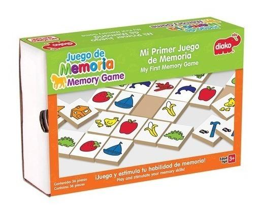 Juego De Memoria Para Niños Diferentes Modelos $365 C/u