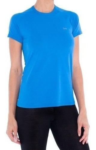 Camiseta Solo Feminina Proteção Upf 25+ Run Lite 25+ Lady