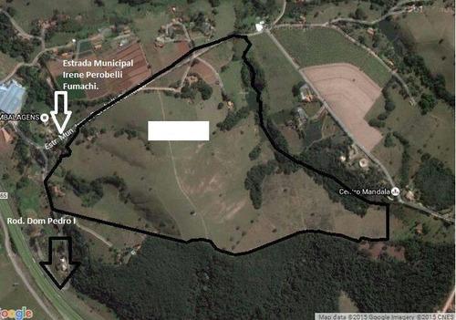 Imagem 1 de 8 de Área À Venda, 452361 M² Por R$ 31.665.395,30 - Dom Pedro I - Itatiba/sp - Ar0026