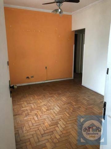 Apartamento Com 2 Dormitórios À Venda, 74 M² Por R$ 276.000,00 - Campo Grande - Santos/sp - Ap5505