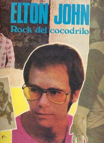 Elton John Rock Del Cocodrilo Lp Vinilo