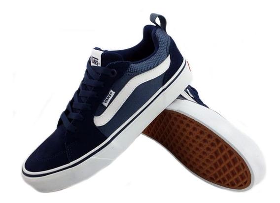 Zapatillas Vans Filmore Azul Urbana Hombre Mtjt2lf Eezap