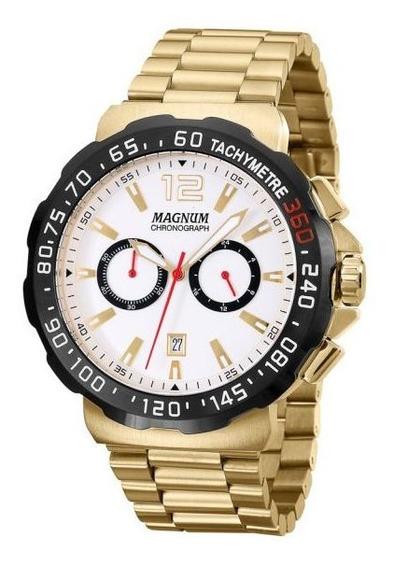 Relógio Magnum Masculino Cronógrafo Ma33657h