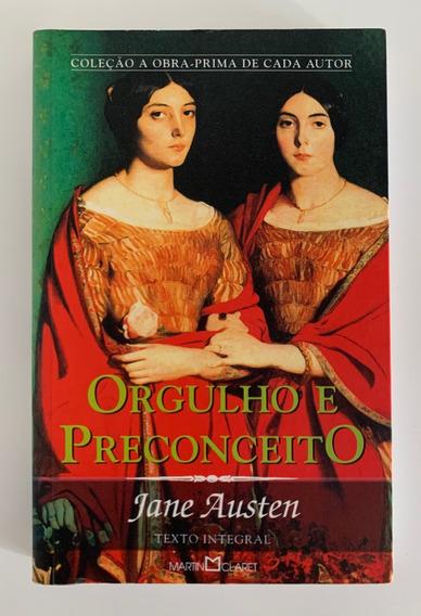 Livro Orgulho E Preconceito - Jane Austen - Ed Martin Claret