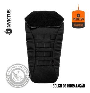 Bolso De Hidratação Camelback Tático Invictus Porta Refil