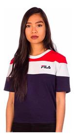 Blusa Fila Cropped Maya 790968 Mujer