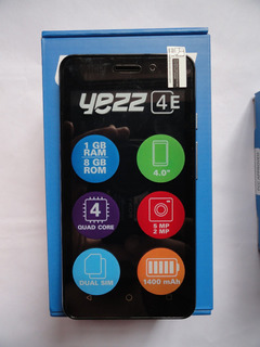 Telefono Celular Yezz 4e7 8gb Rom. 1gb Ram. 3g