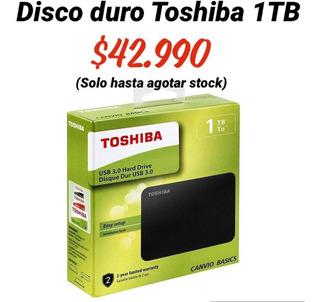 Disco Duro Portátil Toshiba 1 Tb Canvio