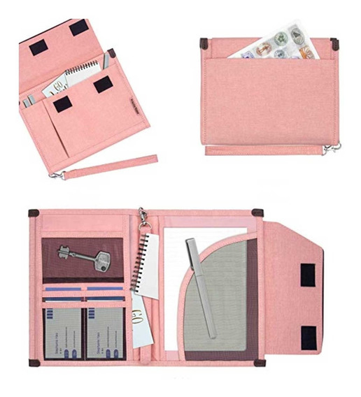 Carpeta Org Documentos Pasaportes Cuaderno Bitácora Viajes