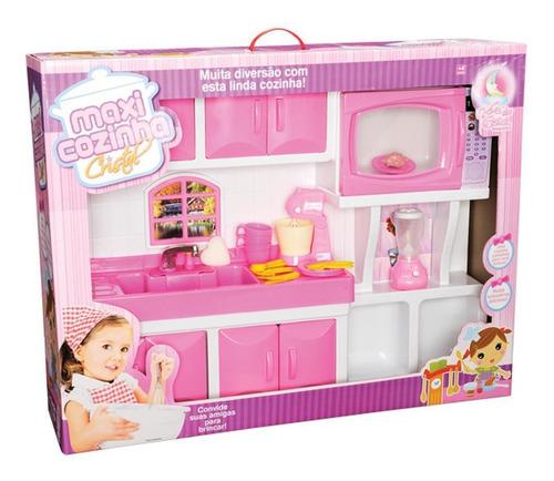 Cozinha Infantil Maxi House Pia Gigante - Lua De Cristal