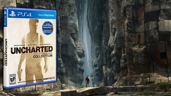 Uncharted Collection Ps4 ( Pronta Entrega ! )