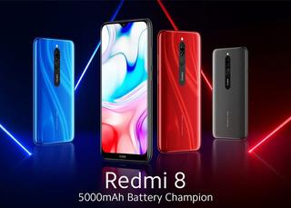 Xiaomi Redmi 8 3g+32g (4g) Liberado Para Todas Dual-sim
