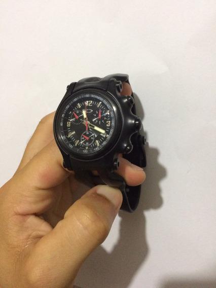 Relógio Oakley Holehsot Preto - Conservadissimo.