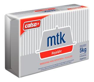 Margarina Mtk Hojaldre Calsa 5 Kg Reposteria Ciudad Cotillon