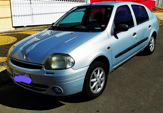 Renault Clio Sedan 2001 1.0 16v Rt 4p