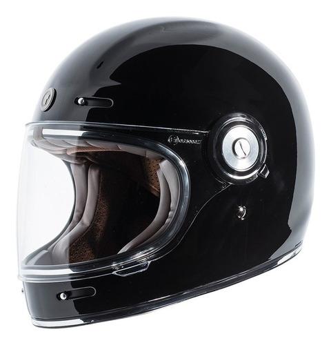 Imagen 1 de 5 de Torc T1 - Casco De Moto De Fibra De Vidrio Estilo Retro,