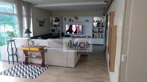 Ampla Casa,em Rua Tranquila De Botafogo - Ca0094