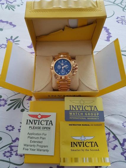 Relógio Invicta Subaqua Noma Iv Dourado