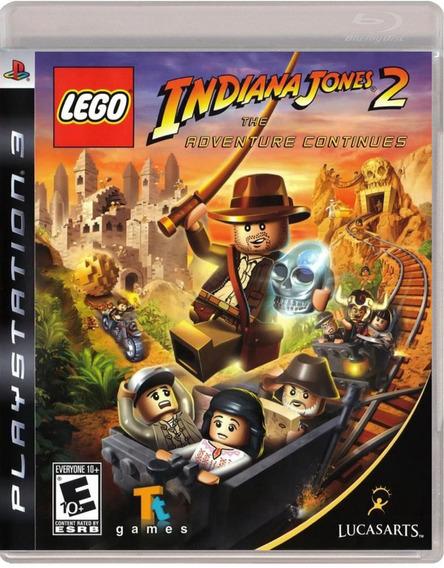 Lego Indiana Jones 2: The Adventure Continues - Jogo Ps3
